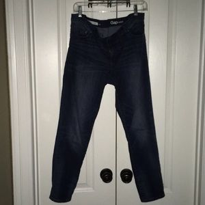 Gap 1969 girlfriend ankle jeans